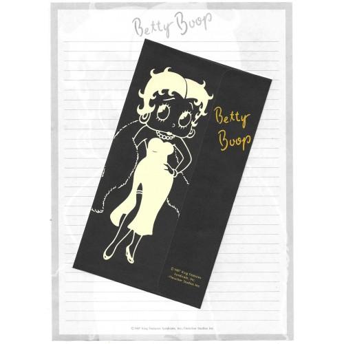 Ano 1987. Conjunto de Papel de Carta BETTY BOOP King Features Sanrio