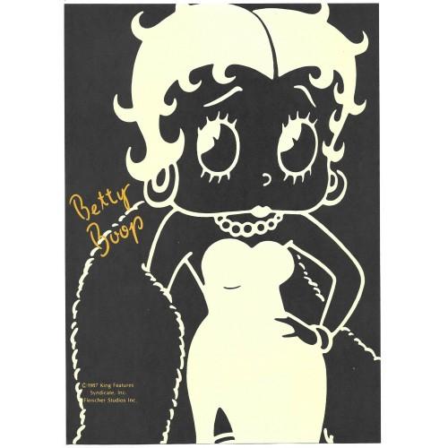 Ano 1987. Papel de Carta AVULSO BETTY BOOP King Features Sanrio