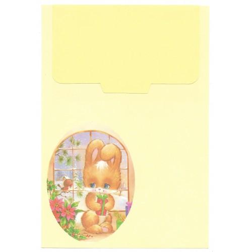 Conjunto de Papel de Carta Antigo Cristina Bichinhos (CAM2)