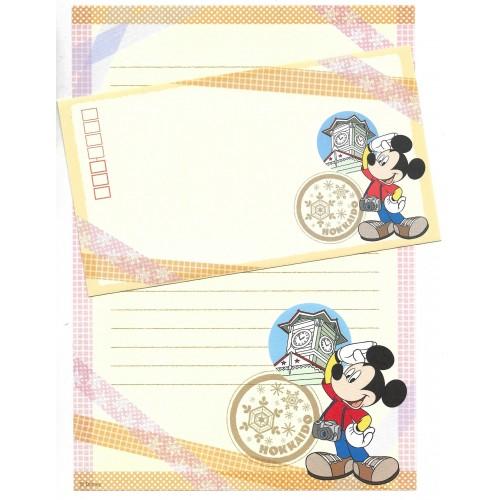 Conjunto de Papel de Carta Disney REGIONAL JAPÃO HOKKAIDO