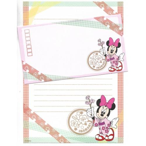 Conjunto de Papel de Carta Disney REGIONAL JAPÃO IBARAKI