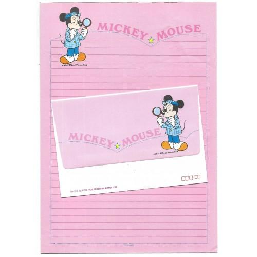 Conjunto de Papel de Carta Disney Mickey Mouse CRS Tokyo Queen