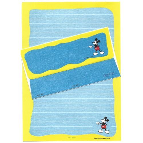 Conjunto de Papel de Carta Disney Mickey JEANS CAZ Tokyo Queen