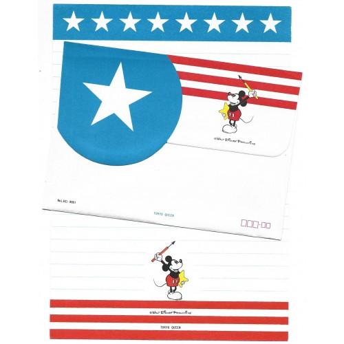 Conjunto de Papel de Carta Disney Mickey Star Tokyo Queen
