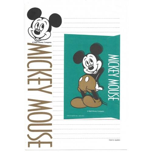 Conjunto de Papel de Carta Disney Mickey Mouse CVD Tokyo Queen