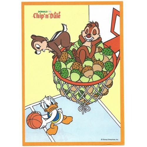Conjunto de Papel de Carta VINTAGE Disney Enterprises Donald vs Chip'n'Dale