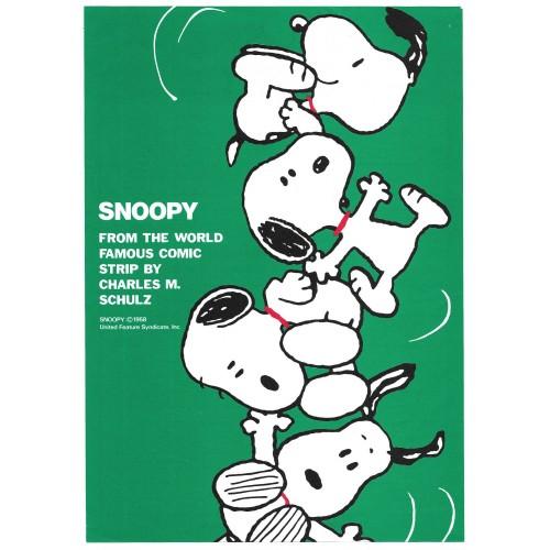 CAPA & Kit 3 Papéis de Carta Snoopy Vintage Hallmark Japan