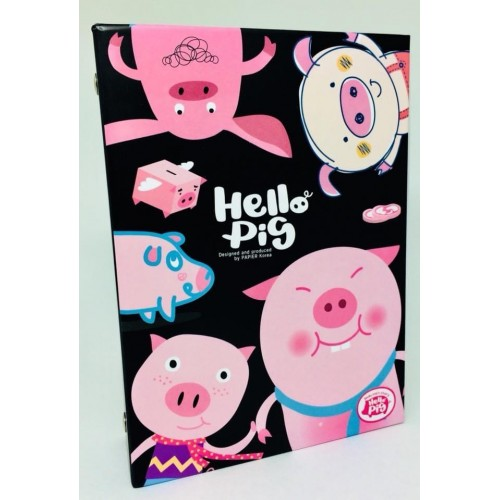 Álbum de Fotos A6 40 Plásticos Hello Pig PAPIER KR