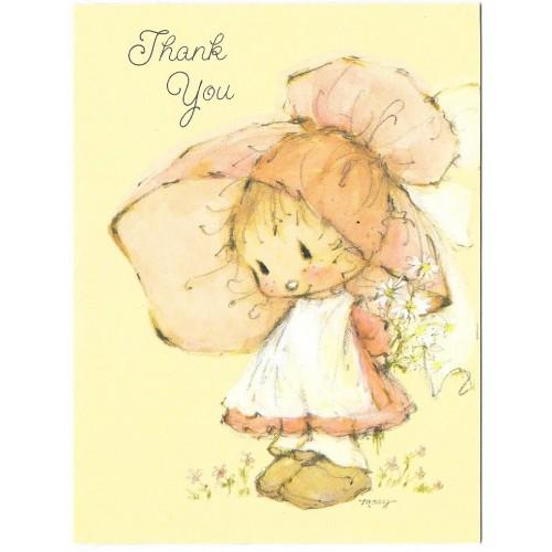 Notelette Antigo Importado Mary Hamilton Thank You Ambassador Cards