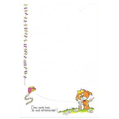 Papel de Carta M Little Joe 08