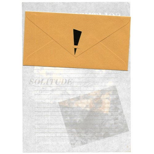 Conjunto de Papel de Carta Antigo Importado Solitude