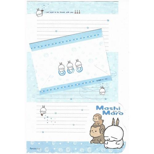 Conjunto de Papel de Carta Importado Mashi Maro CL - KO CAZ