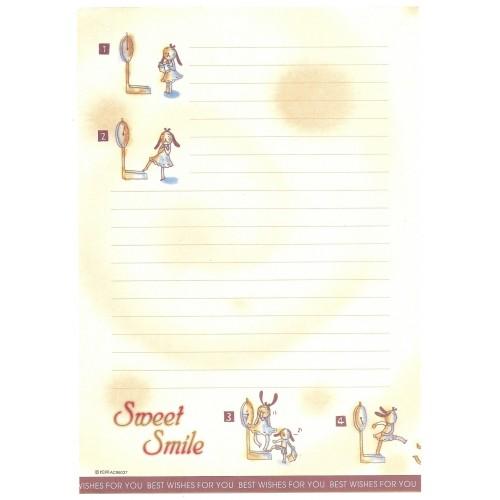 Papel de Carta AVULSO Antigo Importado Sweet Smile AC96037