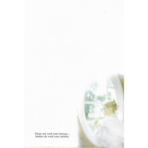 Coleção Paula Q0 COMPLETA 9 papéis de carta diferentes