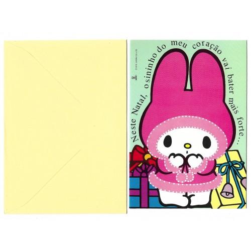 Cartão ANTIGO My Melody BEST CARDS
