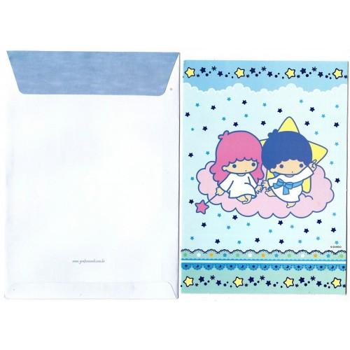 Cartão ANTIGO Little Twin Stars GRAFONS