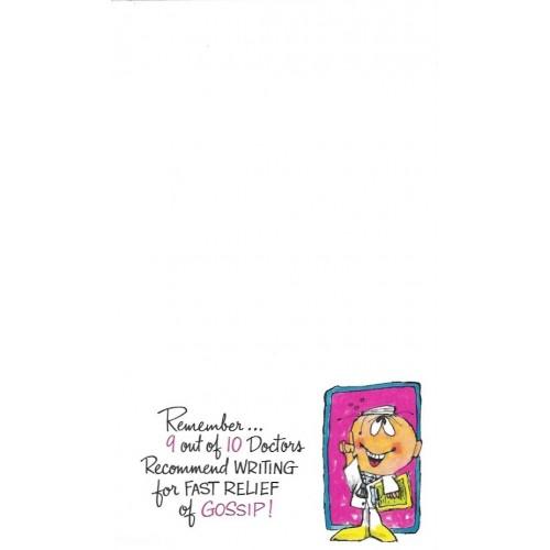 Coleção COMPLETA Antiga Importada Prescription Notes 12pp
