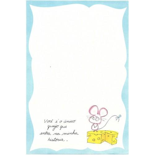 Coleção Paula AF0 COMPLETA 9 papéis de carta diferentes
