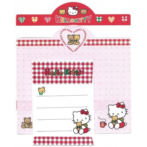 Ano 1996. Conjunto de Papel de Carta Hello Kitty Antigo Dupla VM (Vintage) Sanrio