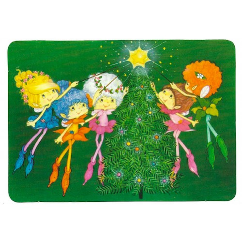 Postcard Antigo Importado Herself the Elf