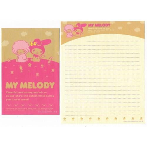 Ano 2004. Conjuntos de Papel de Carta My Melody kit CRRS Sanrio