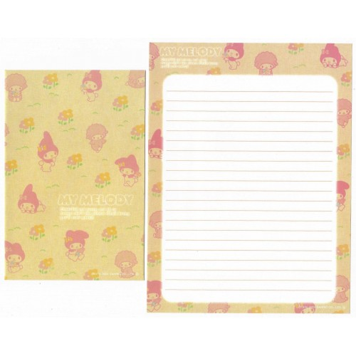 Ano 2004. Conjuntos de Papel de Carta My Melody kit CRVM Sanrio