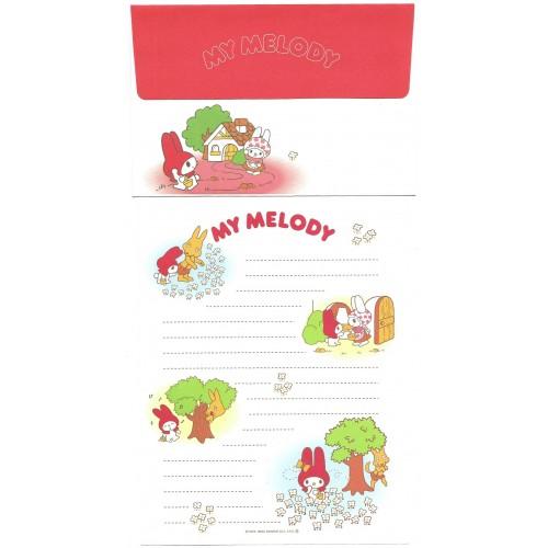 Ano 2003. Conjunto de Papel de Carta My Melody Little Red Hood Sanrio