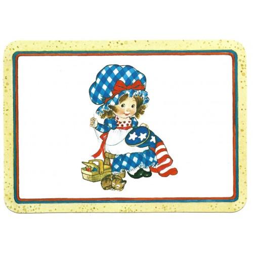 Postcard Antigo Importado Drawing Board Greeting Cards USA