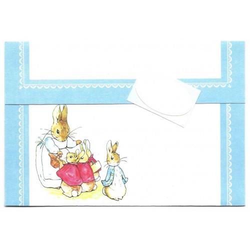 Postalette Antigo Importado Peter Rabbit Beatrix Potter 1981