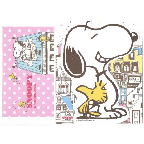 Conjunto de Papel de Carta Snoopy & Woodstock CRS - Peanuts