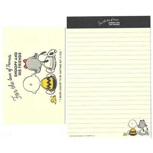 Conjunto de Papel de Carta 65 Years Friends - Peanuts Japão 2015