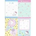 Ano 2005. Kit 6 Notas Charmmy Kitty Perfum II Sanrio