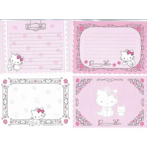 Ano 2005. Kit 4 Notas Charmmy Kitty Sanrio