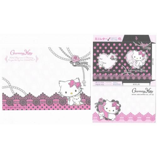 Ano 2005. Kit 6 Notas Charmmy Kitty Sanrio GOTOCHI KITTY JAPAN