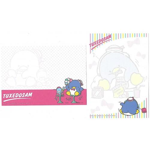 Ano 2012. Kit 2 Notas TUXEDOSAM I Sanrio