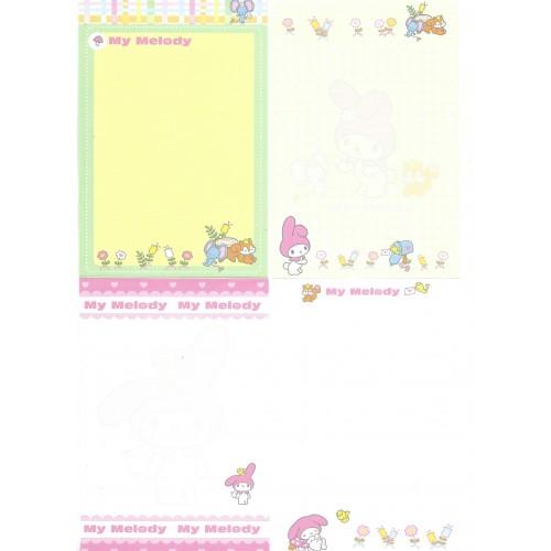 Ano 2004. Kit 24 Notas My Melody Sanrio