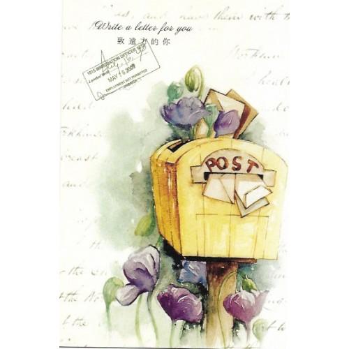 Postcard Postal CARD LOVER 23 CHINA