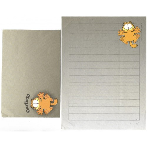 Conjunto de Papel de Carta Garfield CIN A3 CARDS HALLMARK