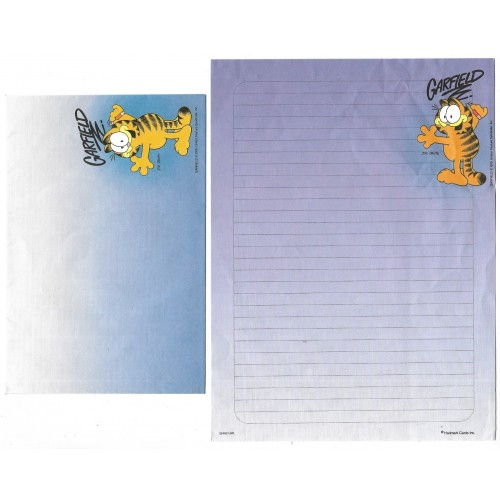 Conjunto de Papel de Carta Garfield CLL A3 CARDS HALLMARK