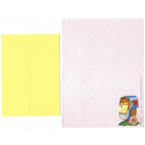 Conjunto de Papel de Carta Garfield CRS BEST CARDS GPCP 50079-3