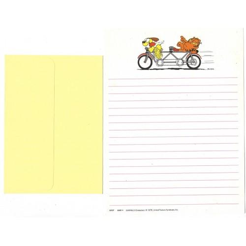 Conjunto de Papel de Carta Garfield CBR BEST CARDS GPCP 50081-4