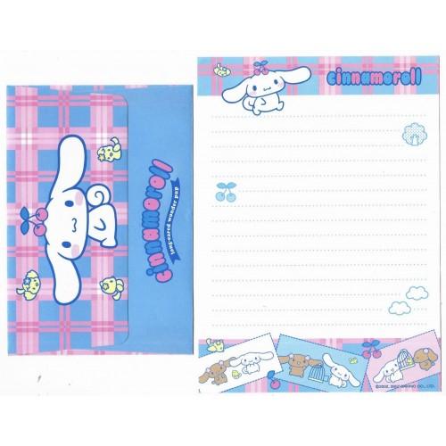 Ano 2007. Conjunto de Papel de Carta Cinnamoroll Long-eared Sanrio