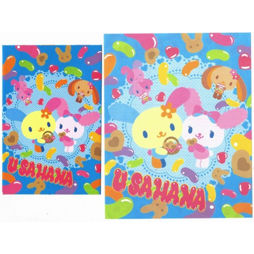 Ano 2008. Conjunto de Papel de Carta U*sa*ha*na Jelly - Sanrio