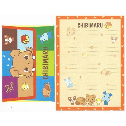 Ano 2005. Conjunto de Papel de Carta Chibimaru CLA Sanrio