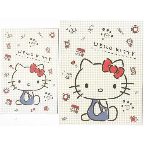 Ano 2020. Conjunto de Papel de Carta Hello Kitty Sanrio