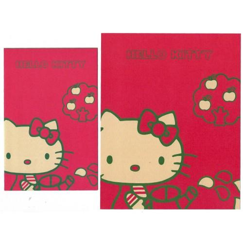 Ano 2007. Conjunto de Papel de Carta Hello Kitty Sanrio