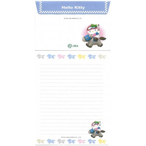 Ano 2003. Conjunto de Papel de Carta Hello Kitty JRA Sanrio