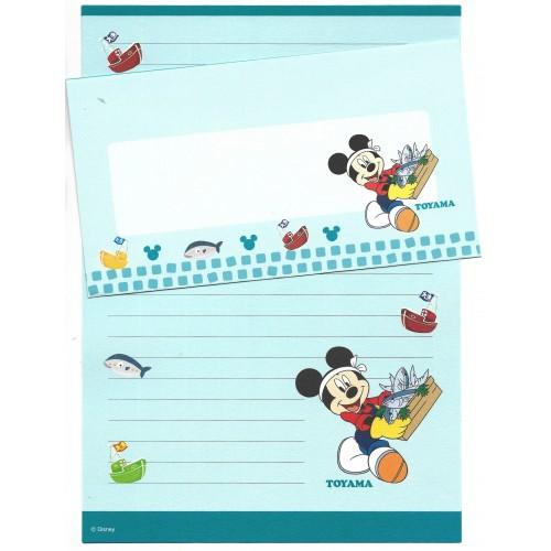 Conjunto de Papel de Carta Disney REGIONAL JAPÃO TOYAMA