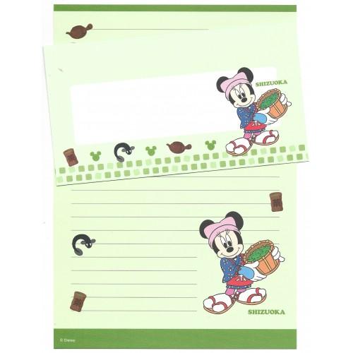 Conjunto de Papel de Carta Disney REGIONAL JAPÃO SHIZUOKA