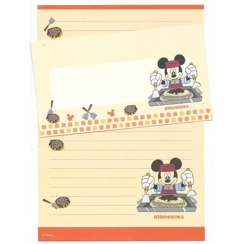 Conjunto de Papel de Carta Disney REGIONAL JAPÃO HIROSHIMA